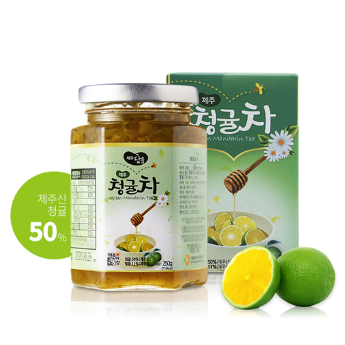제주담움 청귤차 250g/ 450g Green mandarin Tea